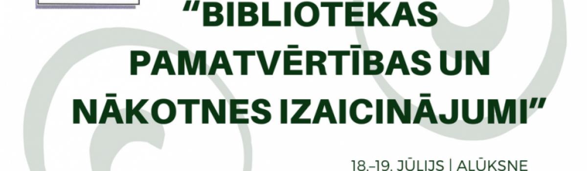 LBB Vidzemes nodaļas 21. saiets-konference 18.-19.jūlijā